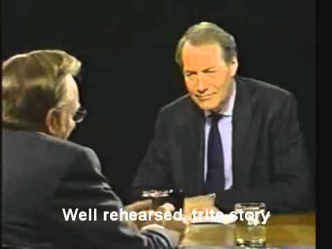 Larry Silverstein on Charlie Rose - analysis of signs of lying