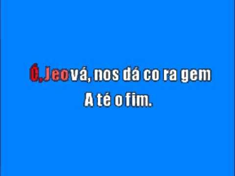 Cantico 137 karaoke em portugues