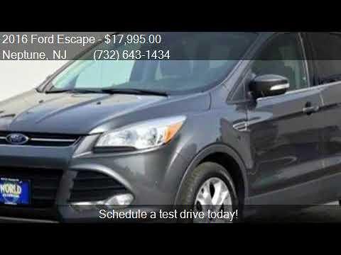2016 Ford Escape Titanium AWD 4dr SUV for sale in Neptune, N