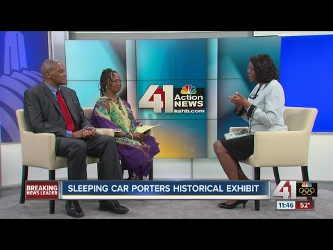 Sleeping car porters historical exhibit