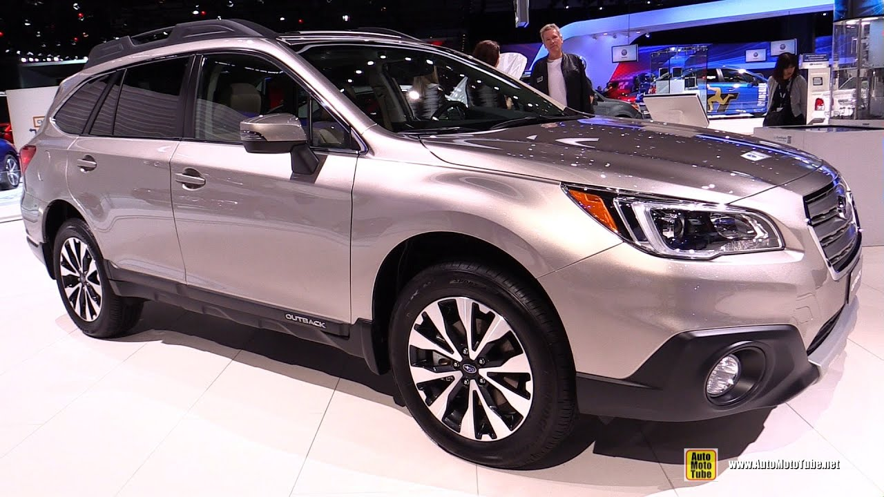 2015 subaru outback 3 6r awd exterior and interior walkaround 2014 la auto show youtube. Black Bedroom Furniture Sets. Home Design Ideas