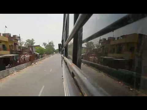 A Trip from Varanasi to Allahabad In Time Lapse