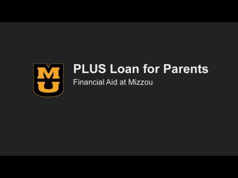PLUS Loan for Parents