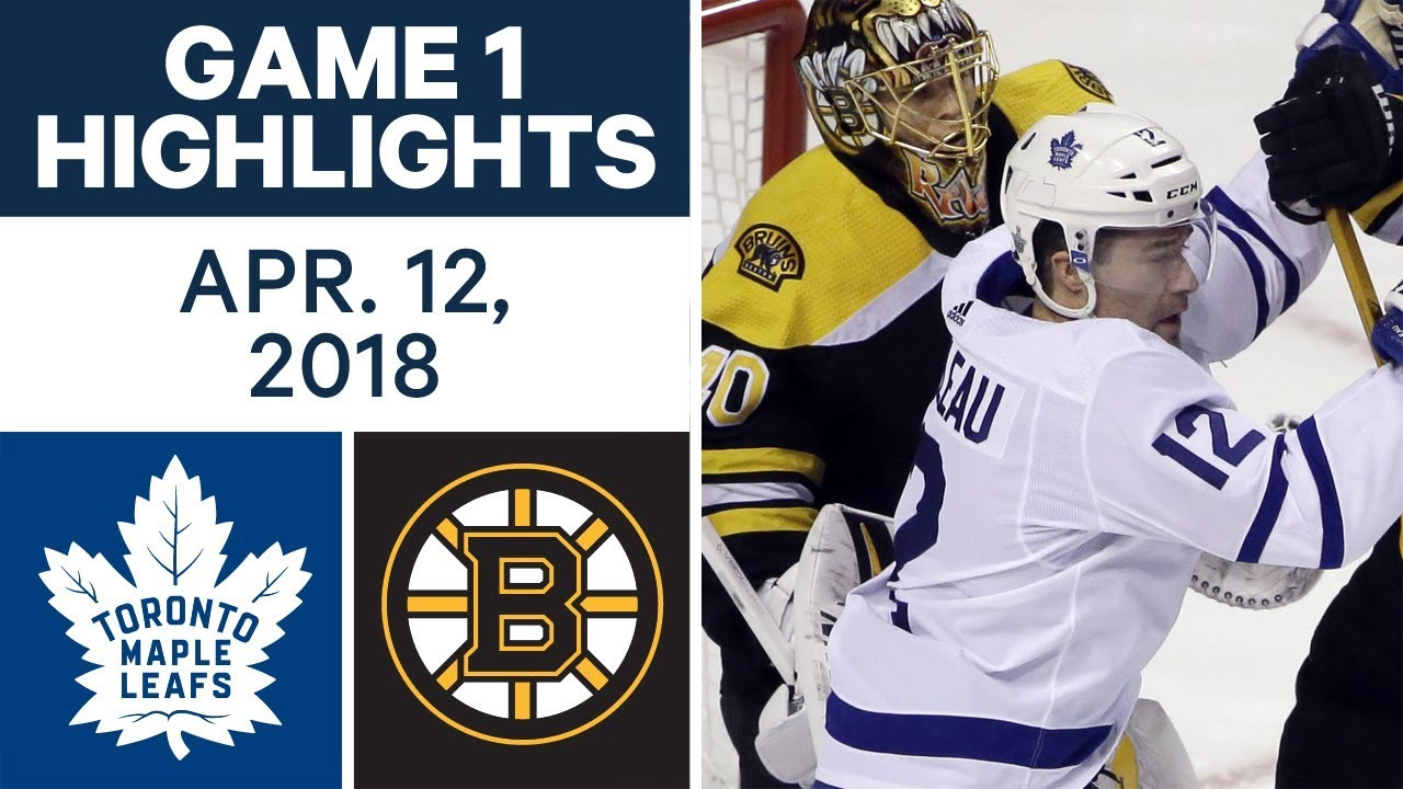 Nhl Highlights Maple Leafs Vs Bruins Game 1 Apr 12 2018 Youtube
