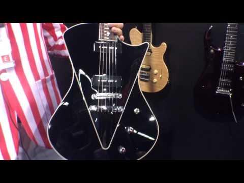 2014 Winter NAMM Show - Ernie Ball Music Man Armada Electric Guitar with MM90 Pickups