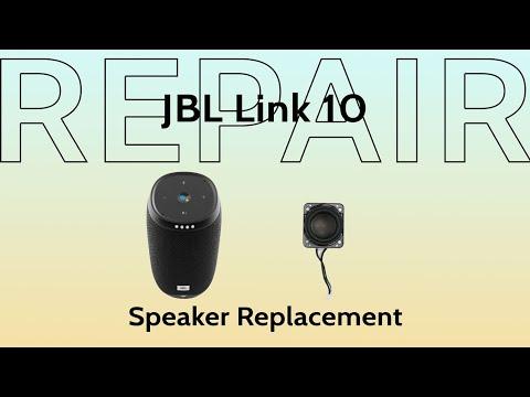 jbl-link-10-speaker-driver-replacement-repair-|-repair-tutorial