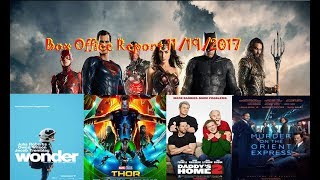 Justice League is a VERY Disappointing #1: Box Office Report 11/19/2017
