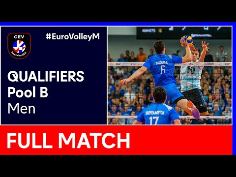 Israel vs. Bulgaria - CEV EuroVolley 2021 Qualifiers Men