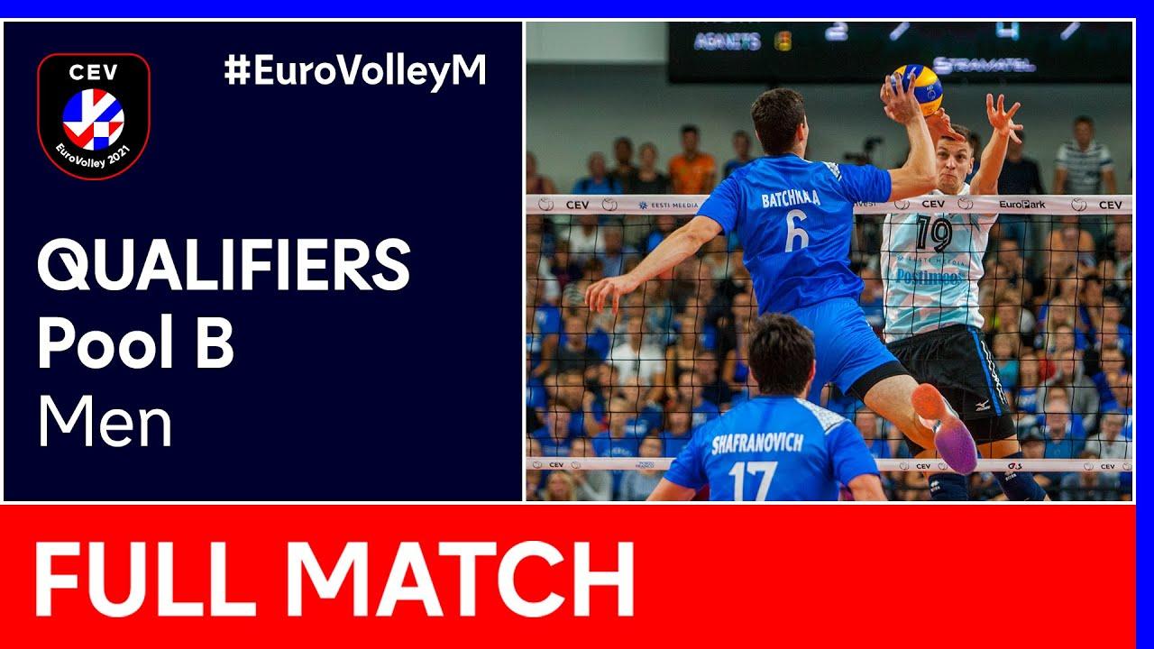 Download Israel vs. Bulgaria - CEV EuroVolley 2021 Qualifiers Men