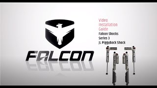 Falcon Shocks Install: JL Piggyback Shocks