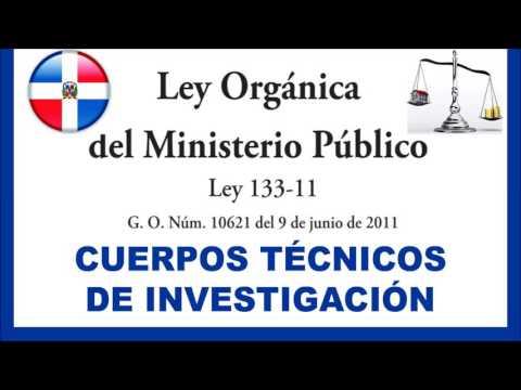 Cuerpo técnico de investigación en el Ministerio Público