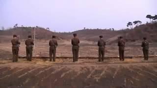 Патриоты Северной Кореи на учениях