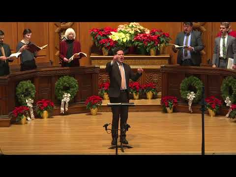 Hallelujah Chorus from Handel's Messiah, Audience Sing-along, 2017