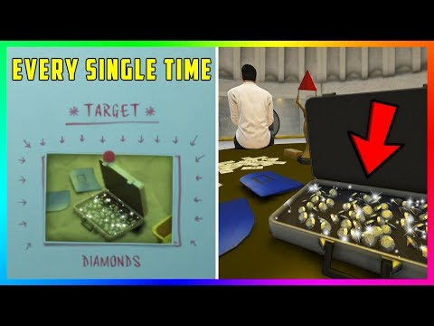 How To Get DIAMONDS In The Vault EVERY SINGLE TIME During The Casino Heist In GTA 5 Online!