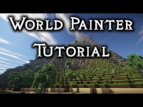 World Painter Tutorial 1 - Basics, Custom Brushes, Cliffs and Beaches