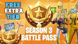 FORTNITE - WEEK 3's SECRET FREE BATTLE PASS TIER CHALLENGE - FORTNITE TIPS