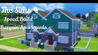 The Sims 4: Speed Build Bargain Apartments