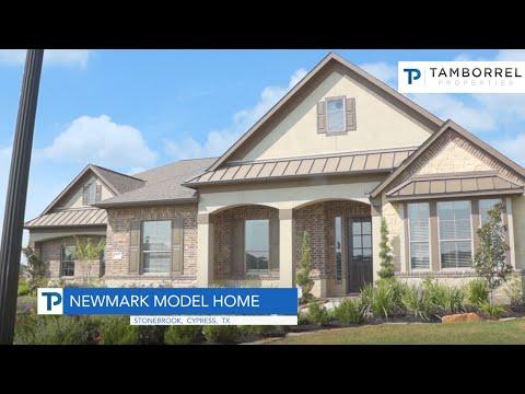 Newmark Homes in Stonebrook Cypress TX YouTube – Newmark Homes Magnolia Floor Plan