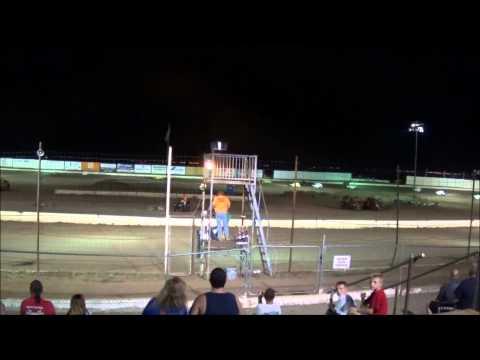 Prescott Valley Speedway Dwarf Car Feature Race 7/26/14