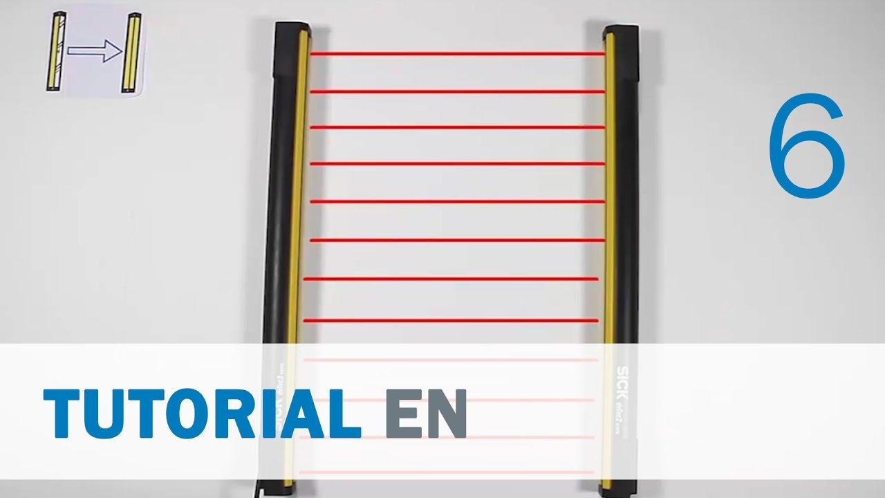 Sick Light Curtain Alignment Tool: Sick Light Curtains M4000