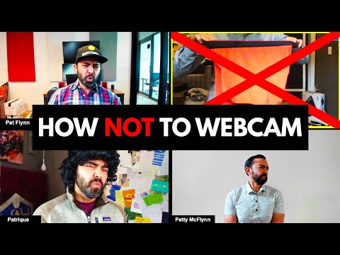 Zoom Fails - 16 Things To STOP Doing On A Webcam (Video Etiquette) - Remote Work At Home Tips
