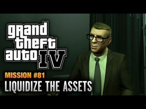 GTA 4 - Mission #81 - Liquidize the Assets (1080p)