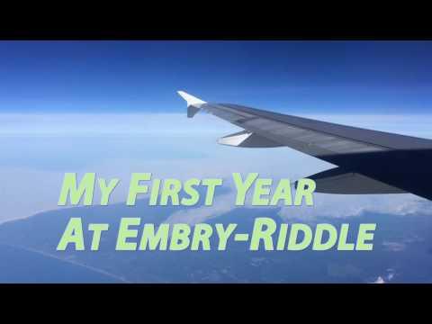 First Year at Embry-Riddle Aeronautical University