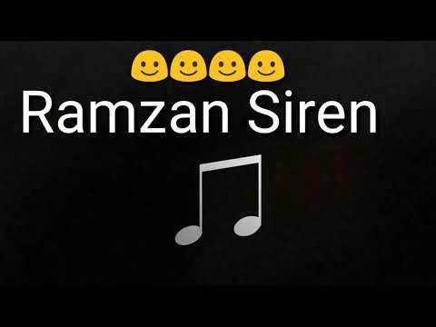 Ramzan Siren