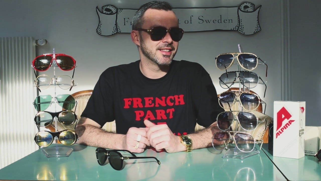 10 Frames: Vintage Sunglasses by Cartier & Alpina (Episode 4) - YouTube