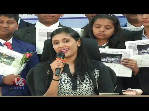 Sri Chaitanya Schools Emerged As The World Champion In The NASA Contest 2018-19 || V6 News