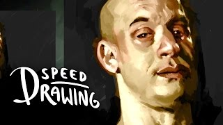 Speed Drawing: Furious 7