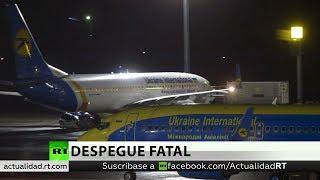 Un Boeing ucraniano con más de 170 personas a bordo se estrella en Irán