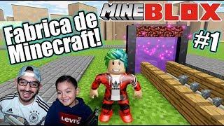 Fabrica de Minecraft en Roblox | Ciudad de Minecraft | Juegos Karim Juega