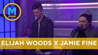 Elijah Woods x Jamie Fine perform 'Ain't Easy' on national television | Your Morning