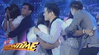 Hashtag CK, Franco, and Zeus welcome Queen Isabela with a hug on It...