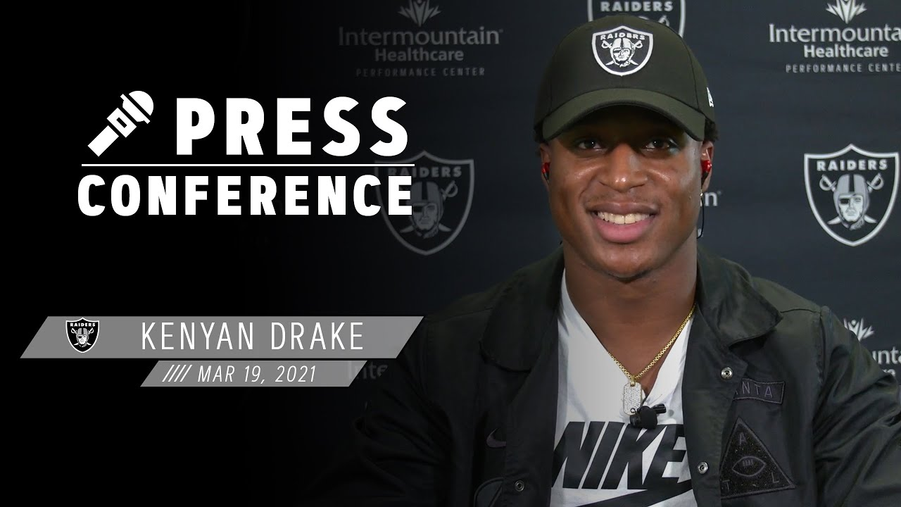 Kenyan Drake: 'I feel like I might have a big role' in Raiders offense