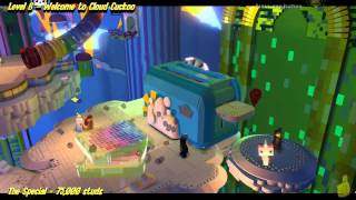 The Lego Movie Videogame: Level 6 Welcome to Cloud Cuckoo Land - STORY Walkthrough - HTG