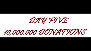 DAY 5 - 10,000,000 DONATES IN CLASH OF CLANS + FORUM SHOWING!