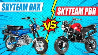 Skyteam PBR And Skyteam DAX - 50CC Mini Bikes