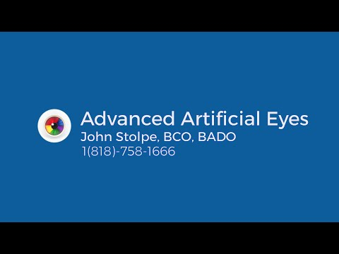 Prosthetic Eye Patient Interview - Advanced Artificial Eyes