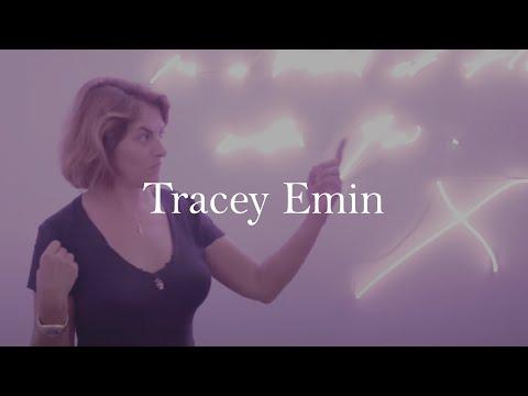 Tracey Emin exhibition walkthrough at Xavier Hufkens