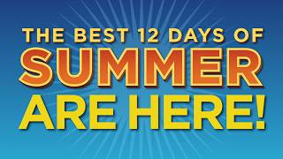 """The Best 12 Days of Summer"" 2017 Erie County Fair Television Commercial Hamburg, NY"