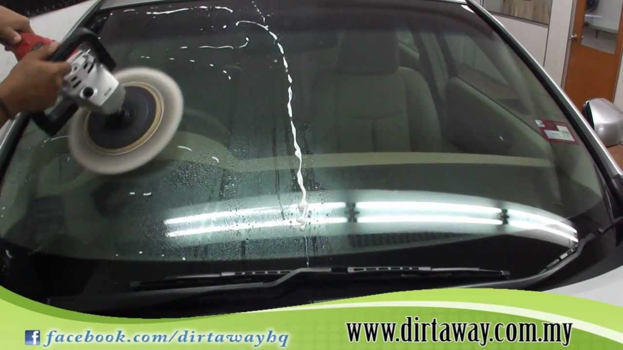 Dirt Away Auto Detailing - Water Repellent and Remove Watermark On Glass