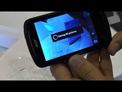 Acer Liquid Z2 camera burst mode @ MWC 2013 | Tech2.hu