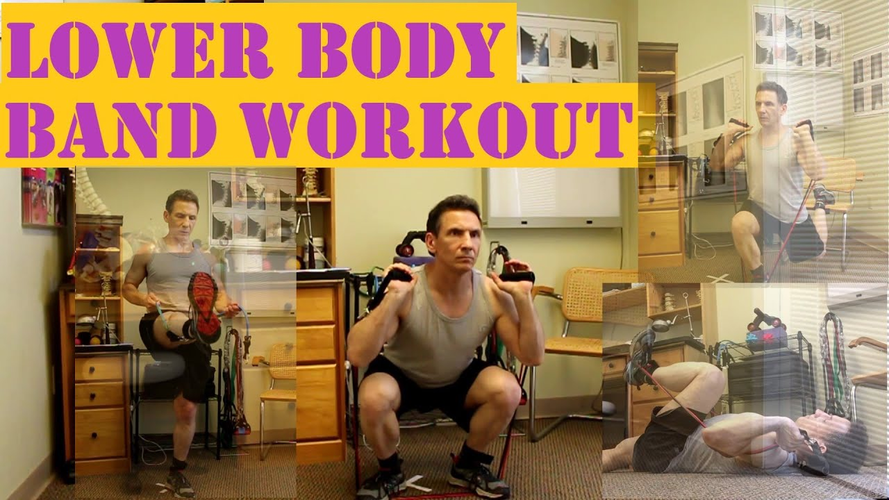 Exercise Band Workout For Lower Body