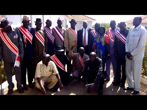 South Sudan News -RUWENG STATE'S CHIEFS, YOUTH AND WOMEN REPRESENTATIVES MET THE PRESIDENT