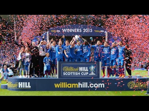 Inverness Caledonian Thistle FC | Scottish Cup Winners 2015 | A Red And Blue Day In May