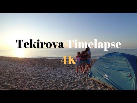 Tekirova timelapse [TURKEY] in 4K - 2017