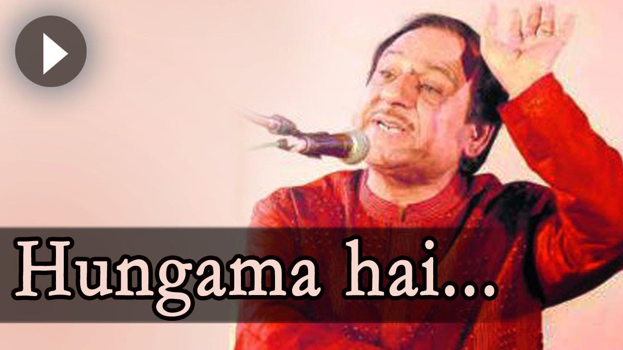Yeh dil yeh pagal dil mera ghulam ali songs ghazal mehfil.