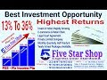 Highest Returns Investment and Refferal Income Plan by Five Star Shop.